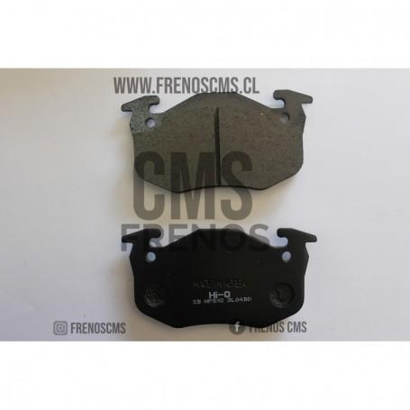 PASTILLAS DE FRENOS TRASERAS PEUGEOT 306 1.6  1.85 2.0