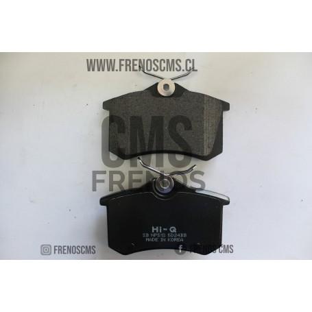 PASTILLAS DE FRENOS TRASERAS PEUGEOT 205 1.9 GTI