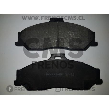 PASTILLAS DE FRENOS DELANTERAS MAZDA BT-50 4WD